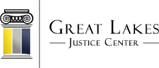 Great Lakes Justice Center Mobile Logo